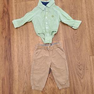 Baby dress shirt and pants
